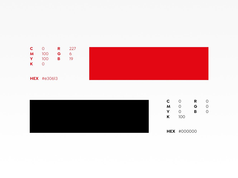 Corporate Design-Handbuch - Farben - Hostfactory