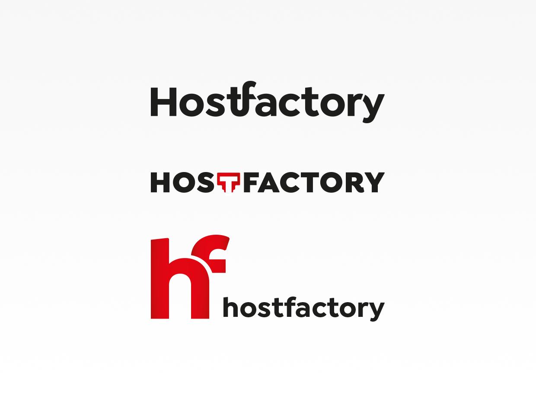 Rebranding - Logoentwicklung - Hostfactory