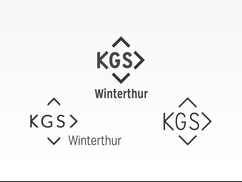 KGS Winterthur logo development