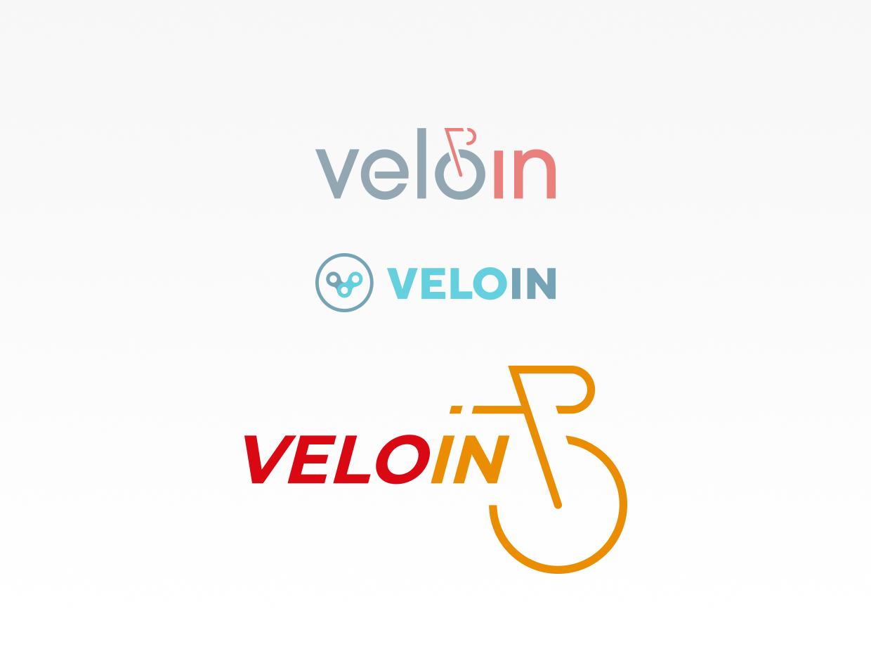 VeloIn logo entwicklung
